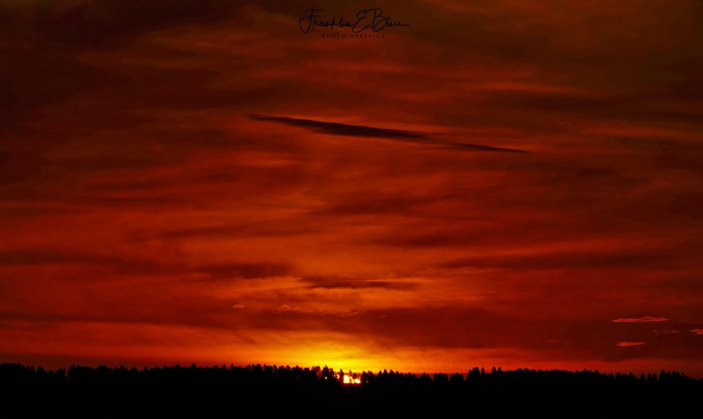 Yesterday Morning's Sunrise
