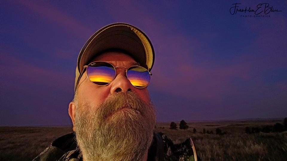 A Very Vary Rare Selfie