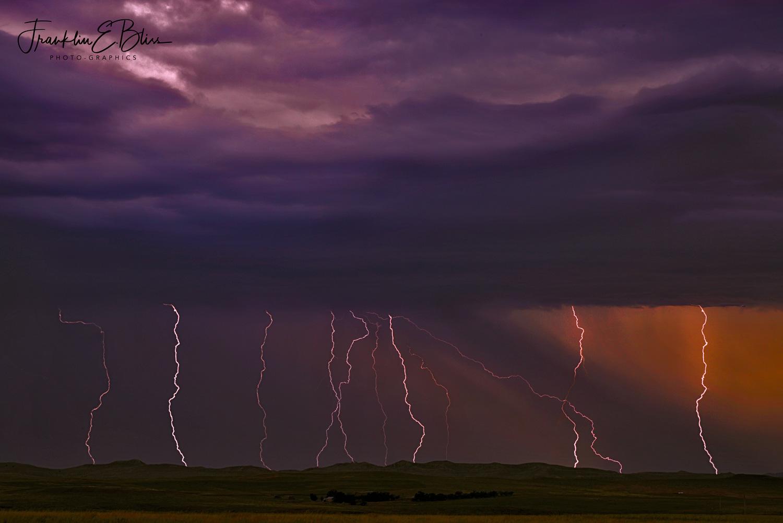 Lightning Time Lapse