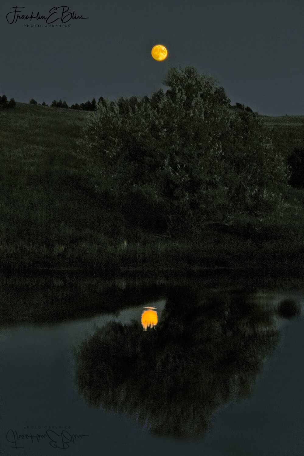 Reflections of a Full Moon in the Borderlands