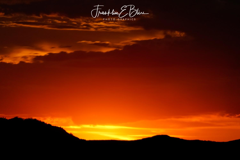 Twilight Orange Minutes before Sunrise