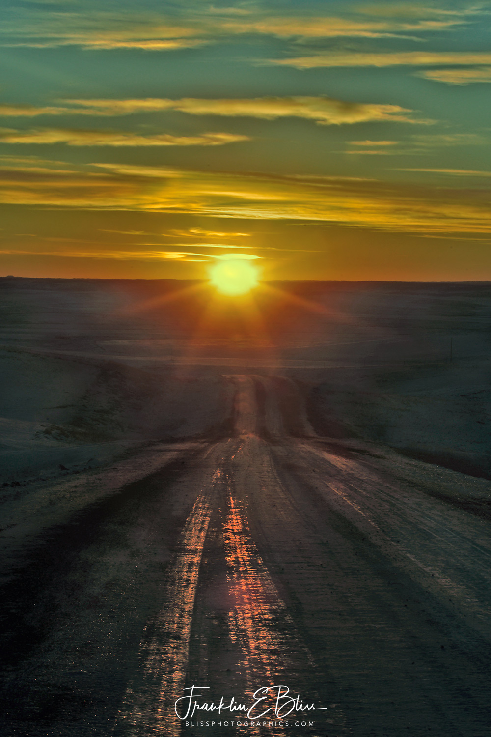 Driving into the Sunset: Backroads of Wyotana