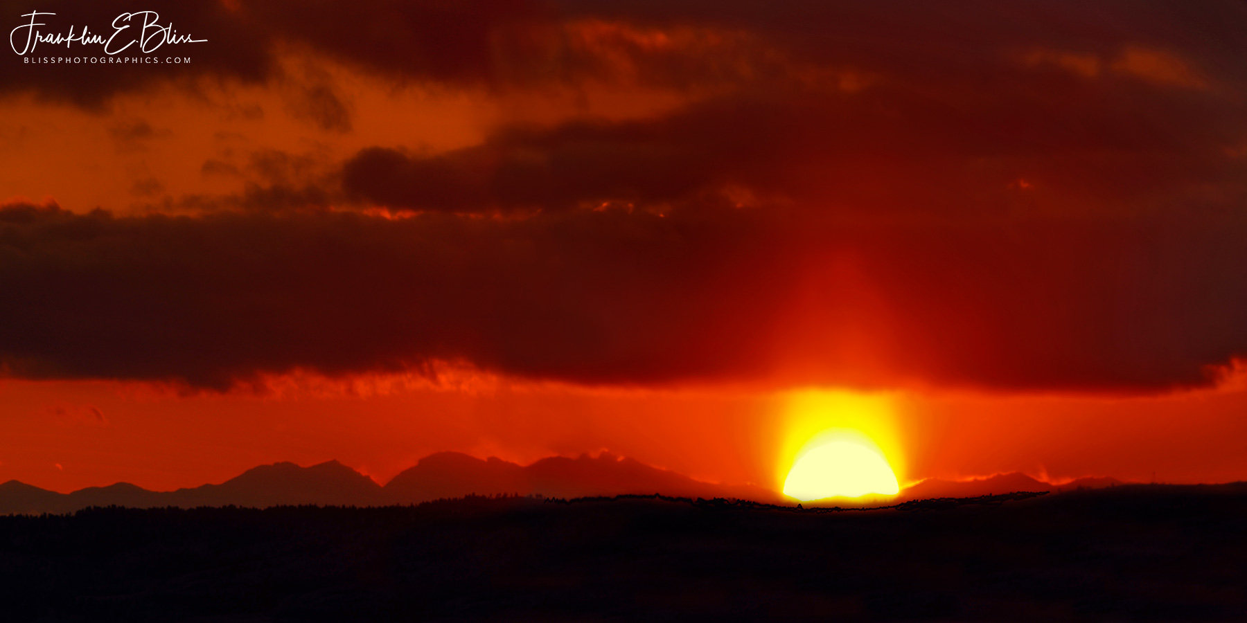Big Horn Sun Pillar
