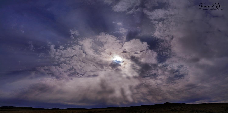 360 degree Crepuscular Rays