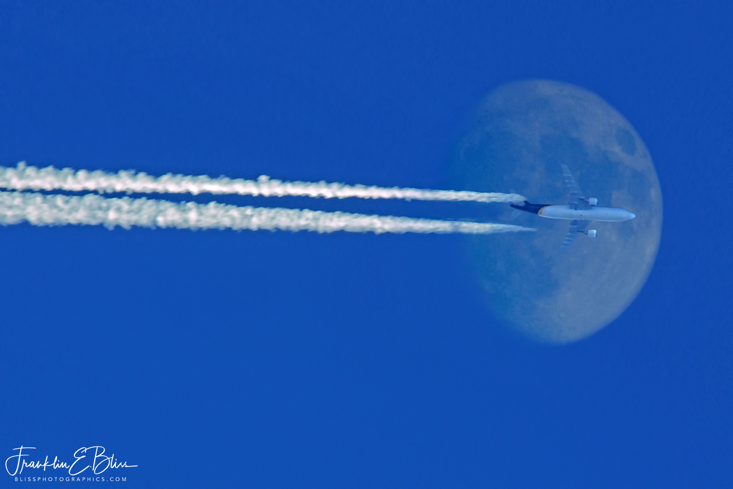 Fly Jet Blue to the Moon