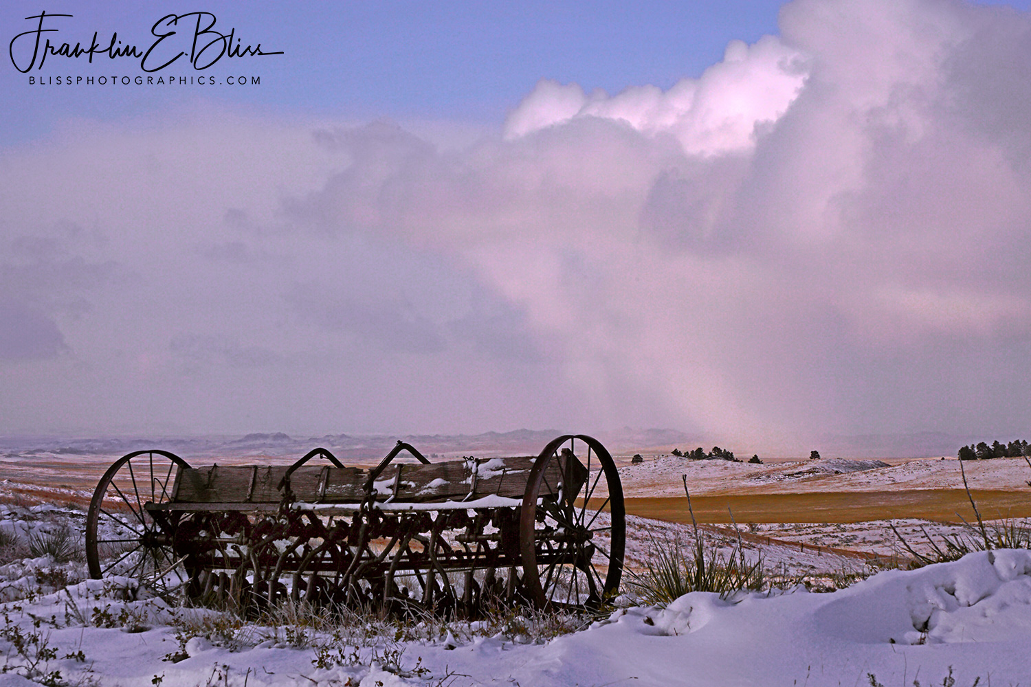 Snow Squalls in the High Plains