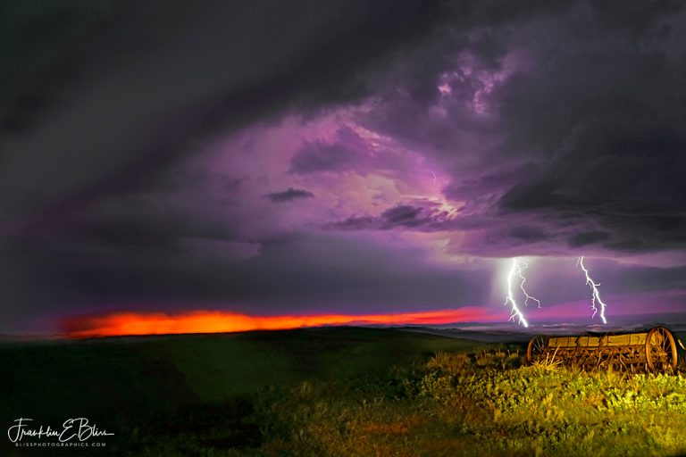 Lightning and the Seed Drill110819J