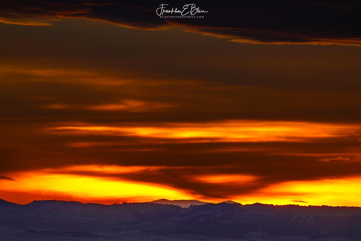 Crimson BigHorn Mountain Ridge