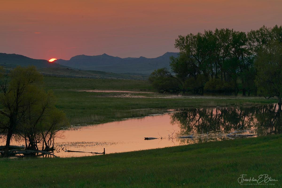 Sunset Across the Border
