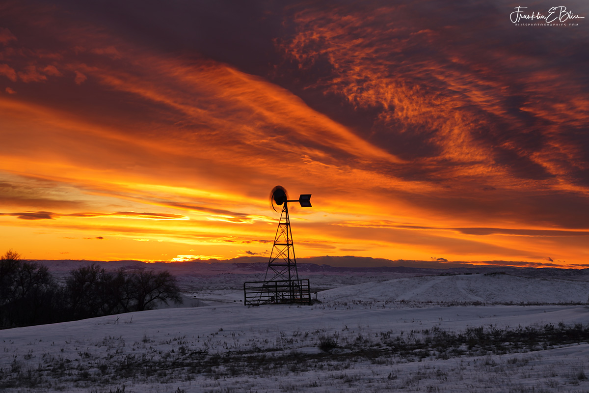 Big Sky Windmill