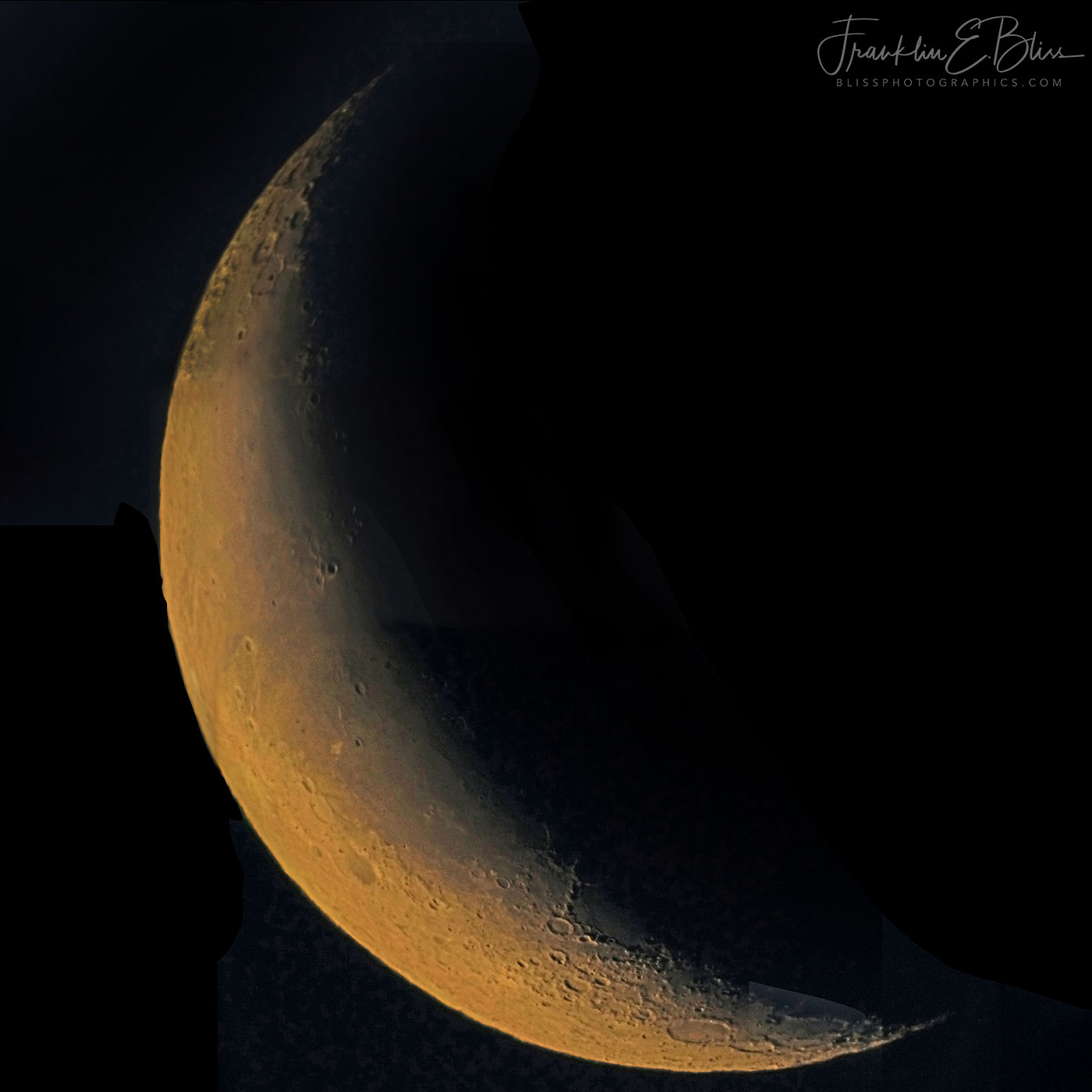 Waning Crescent Moon January