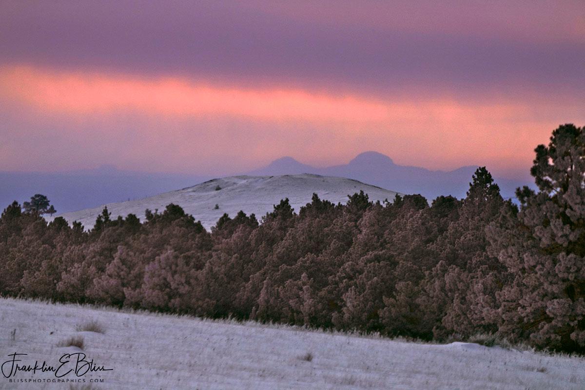 Missouri Buttes Snowy Squalls
