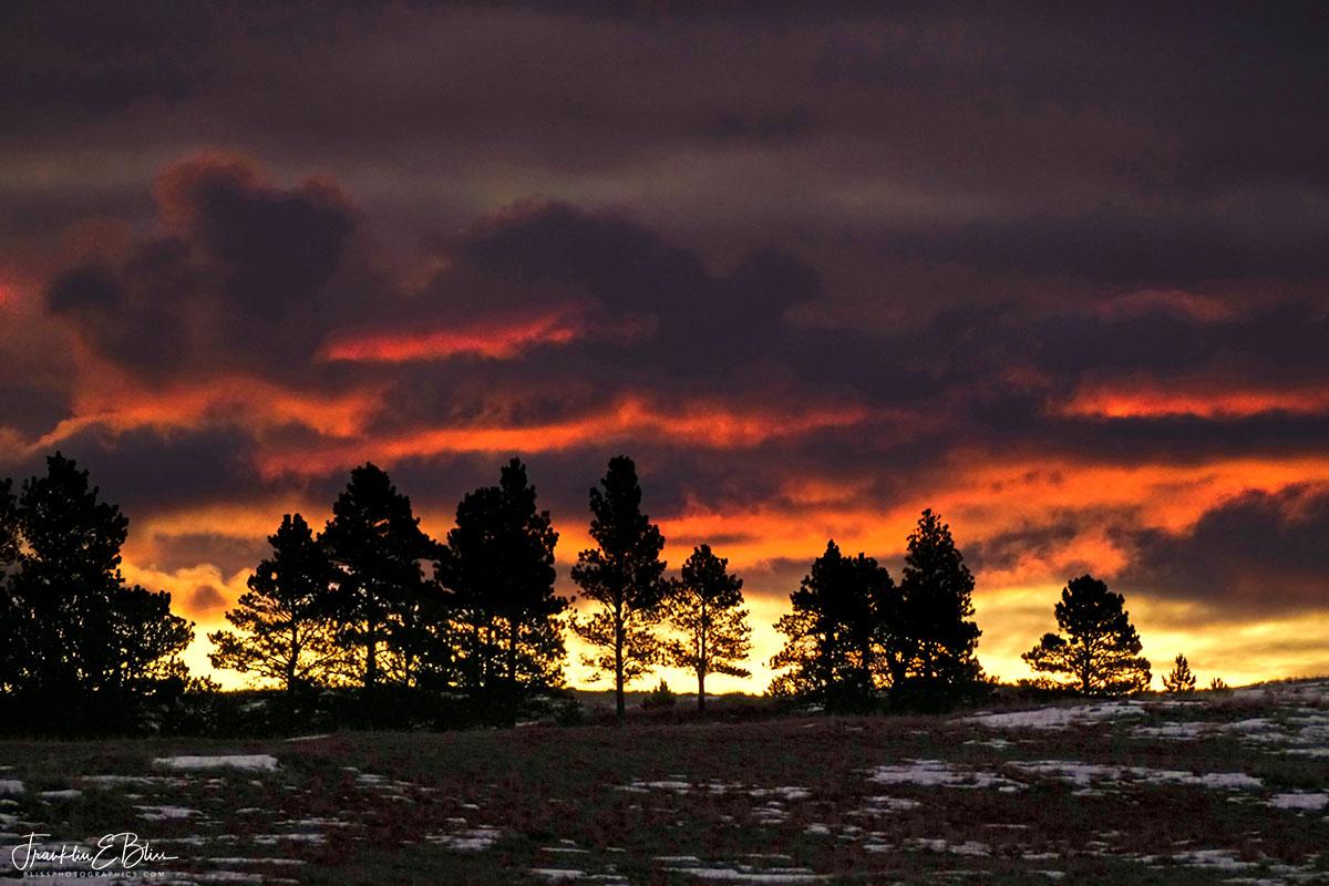 Crimson Cloud Roll Sunrise
