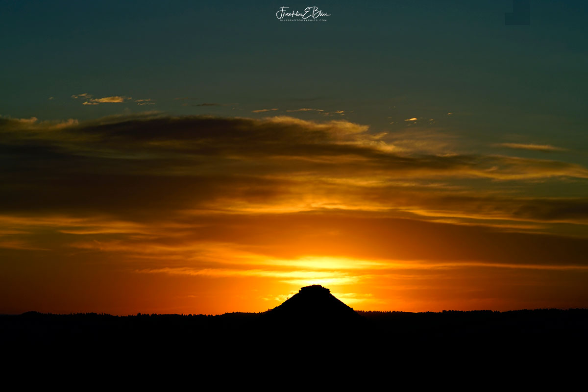Twilight Backcountry Pyramid