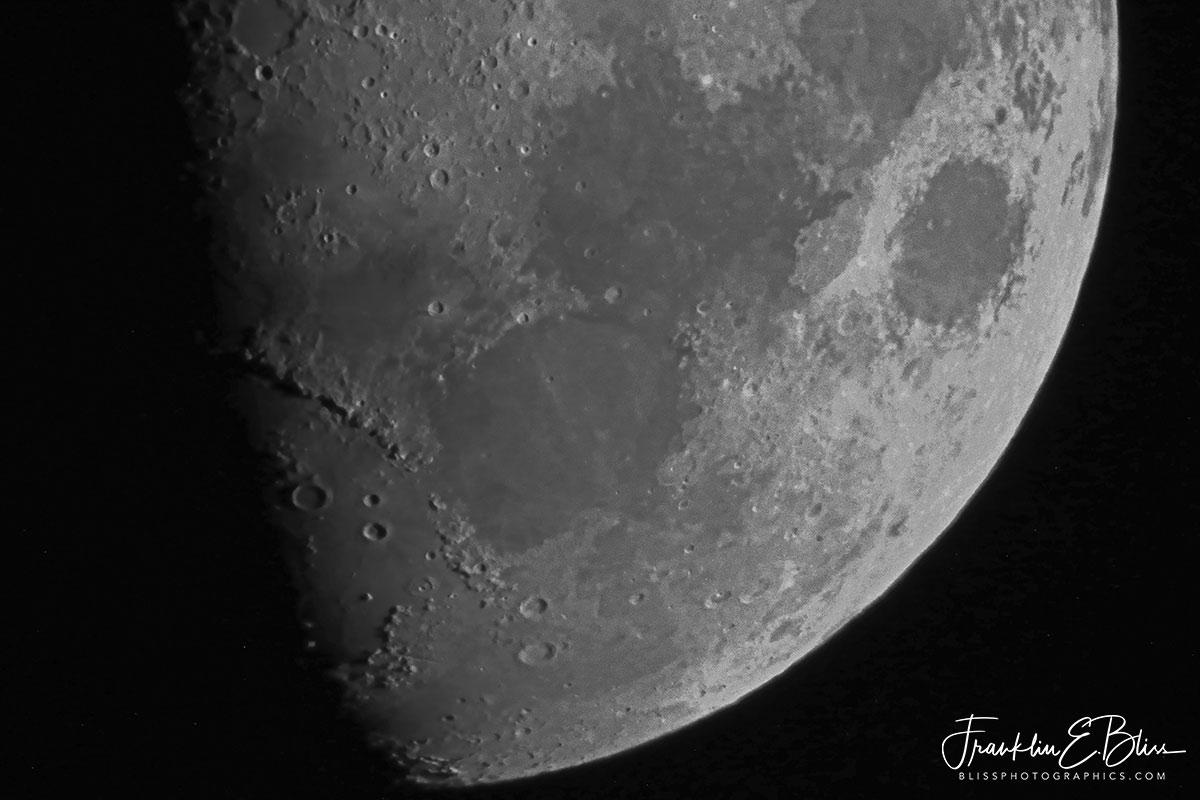 Moon First Quarter Detail