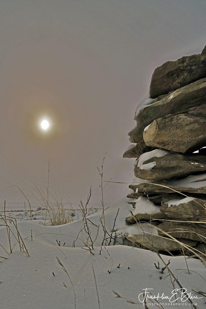 Stark Stoney Sunset