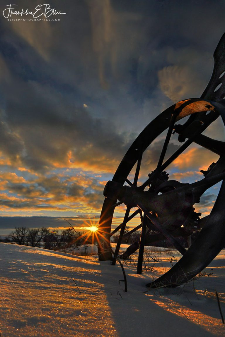 Antique Plow with a View 030820P