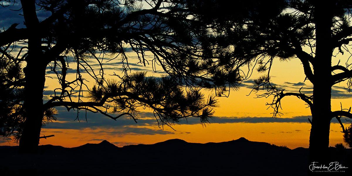 Twilight Overlook Mud Hills