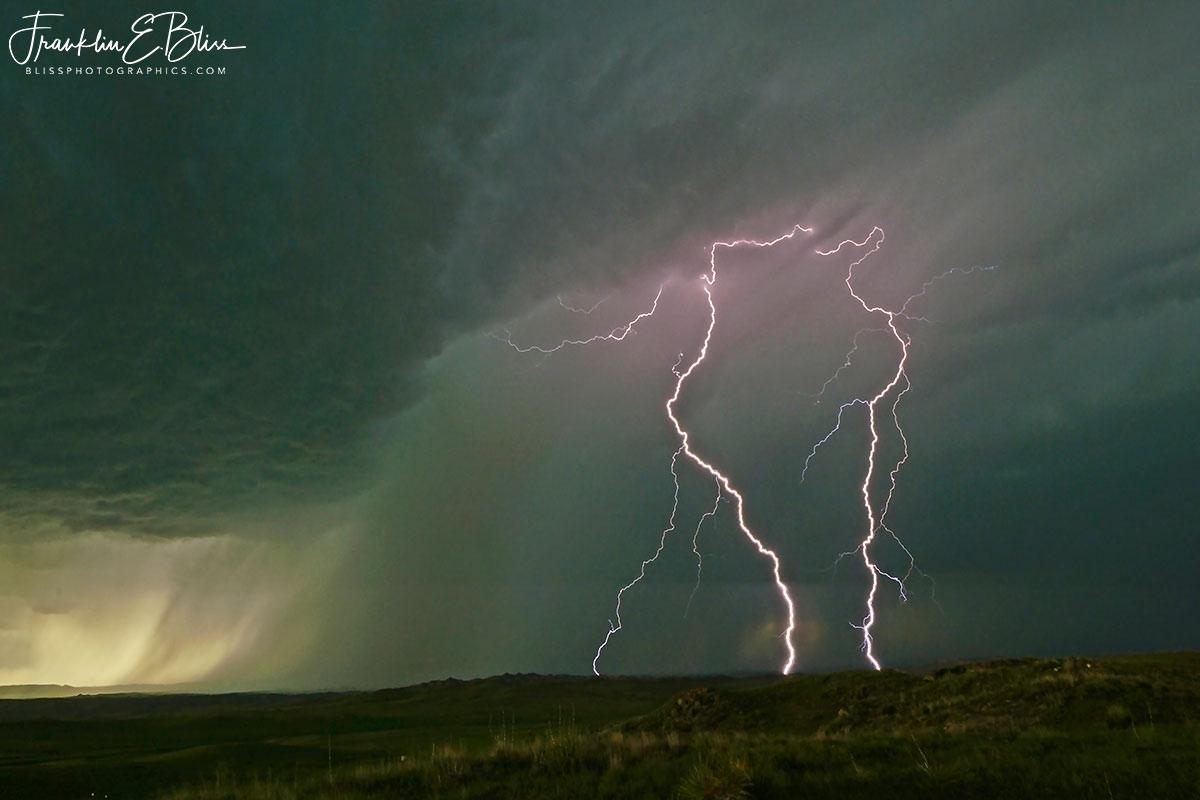 Mesocyclone Lightning Cluster
