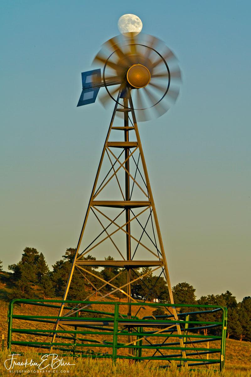 Windmill Cutting Cheese