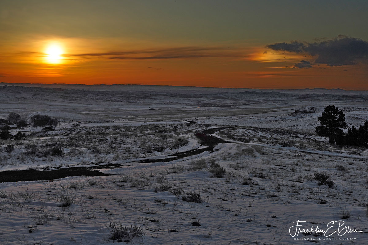 SunDog High Plains Sunset
