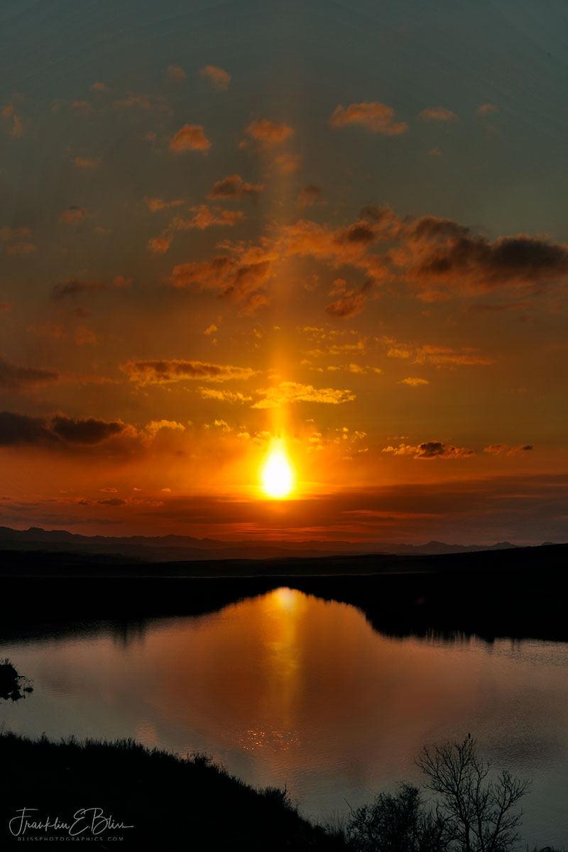 Reflections Sun Pillar