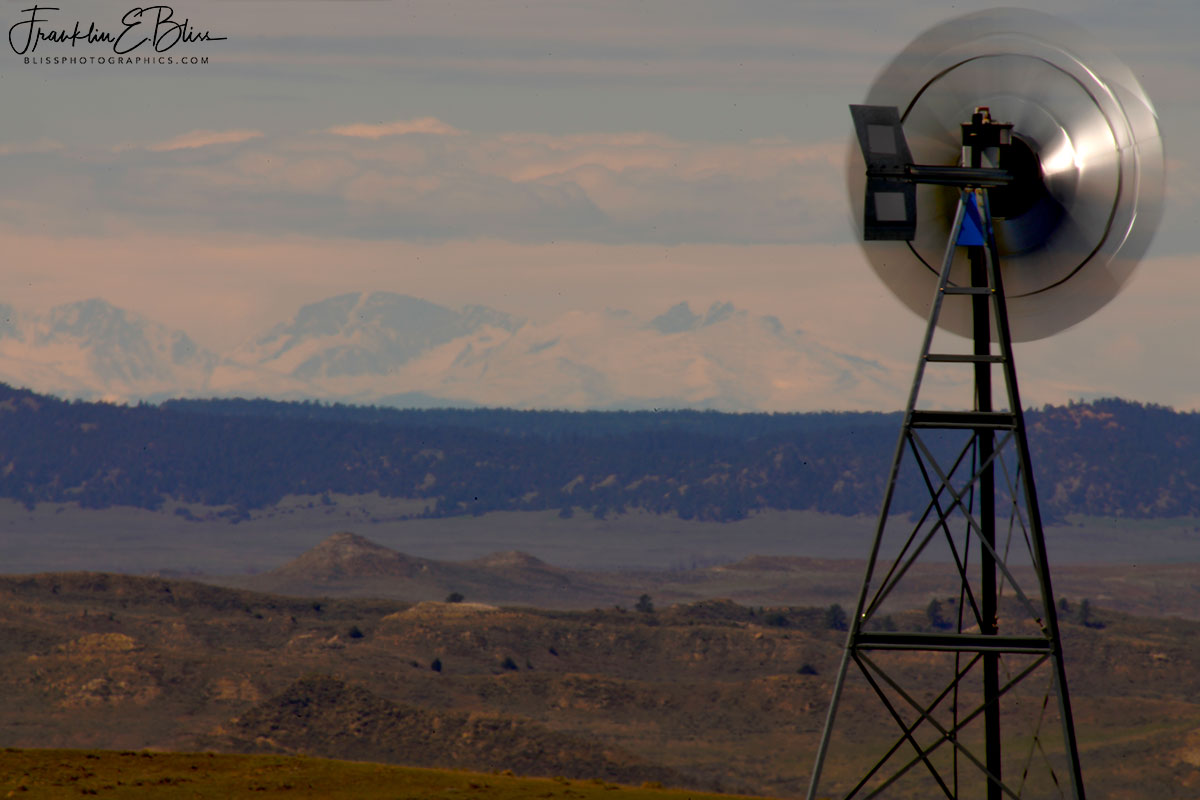 Long Landscape to the BigHorns