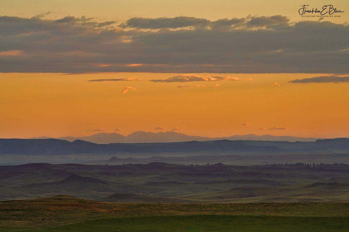 Bighorns 130 Mile Landscape