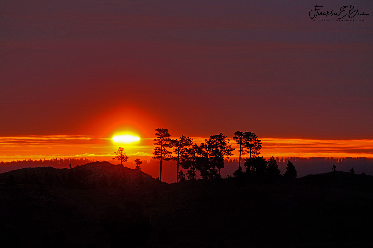 Sun Slit Islands of Light