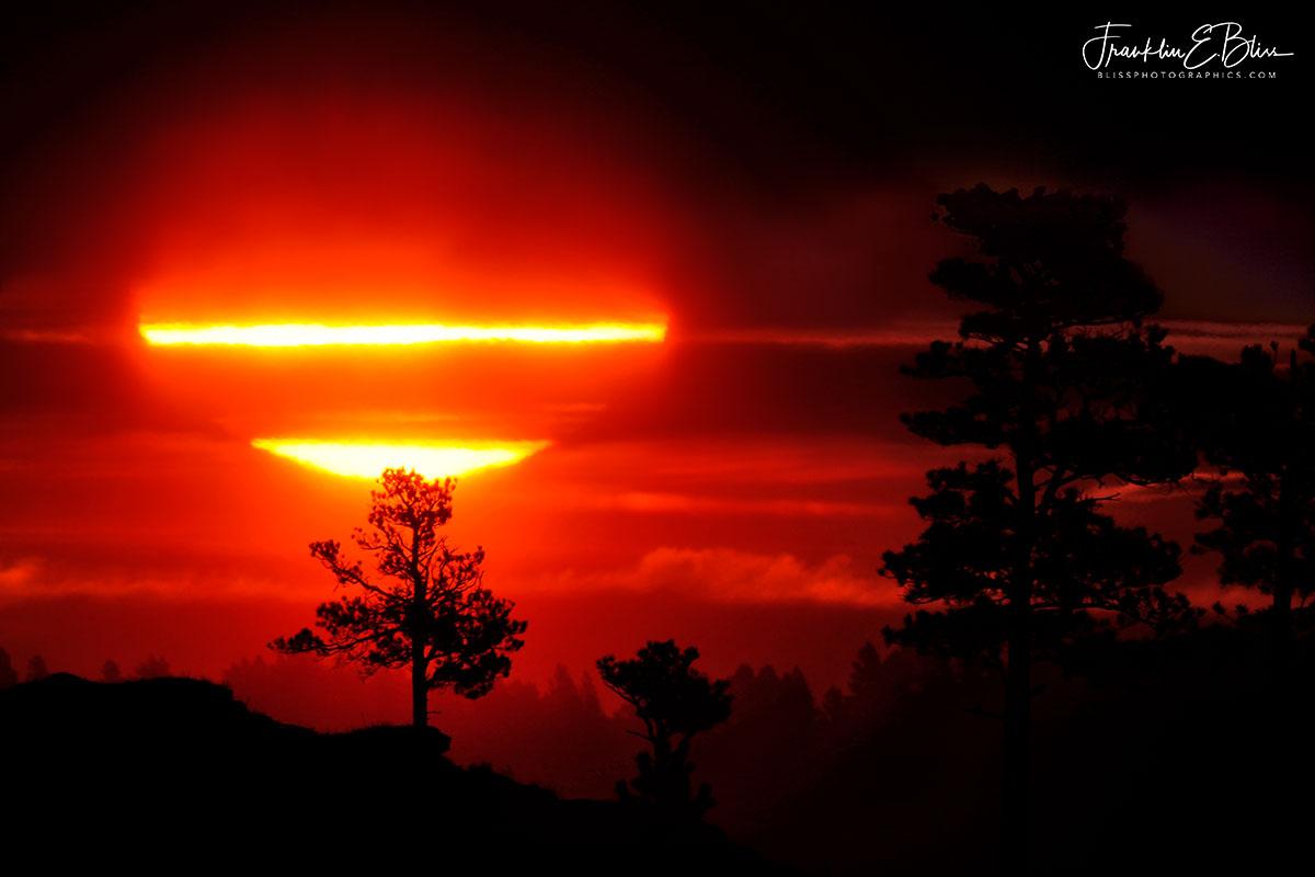 Sunrise Snow Squall Filter