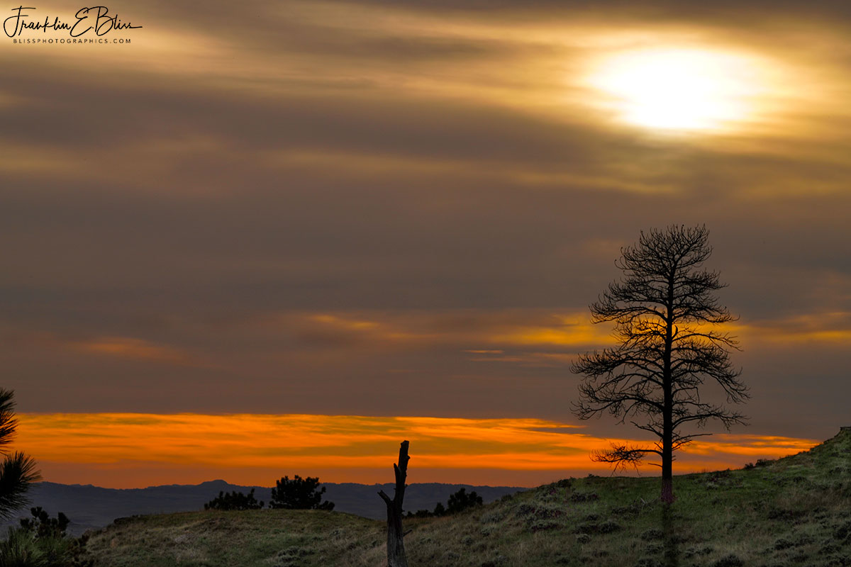 Lone Tree Ridge Sunset