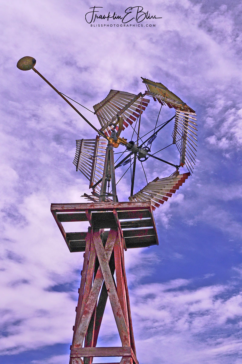 Windmill Fairbanks-Morris Circa 1870