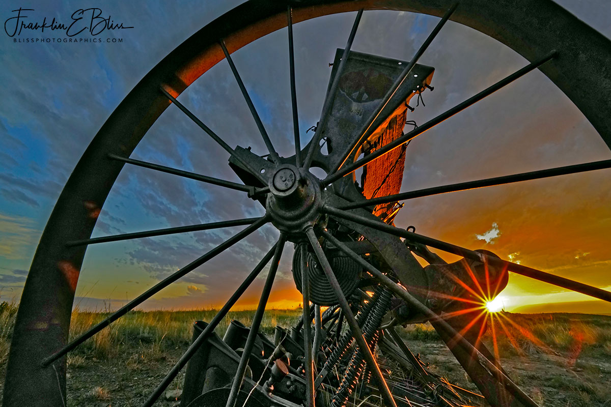 Star Bursts and Wheel Spokes