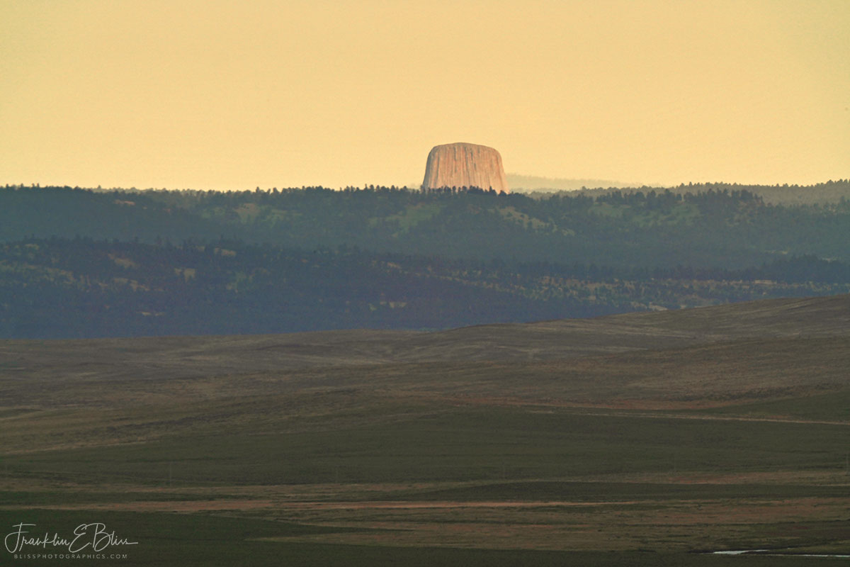 Portrait of Devils Tower