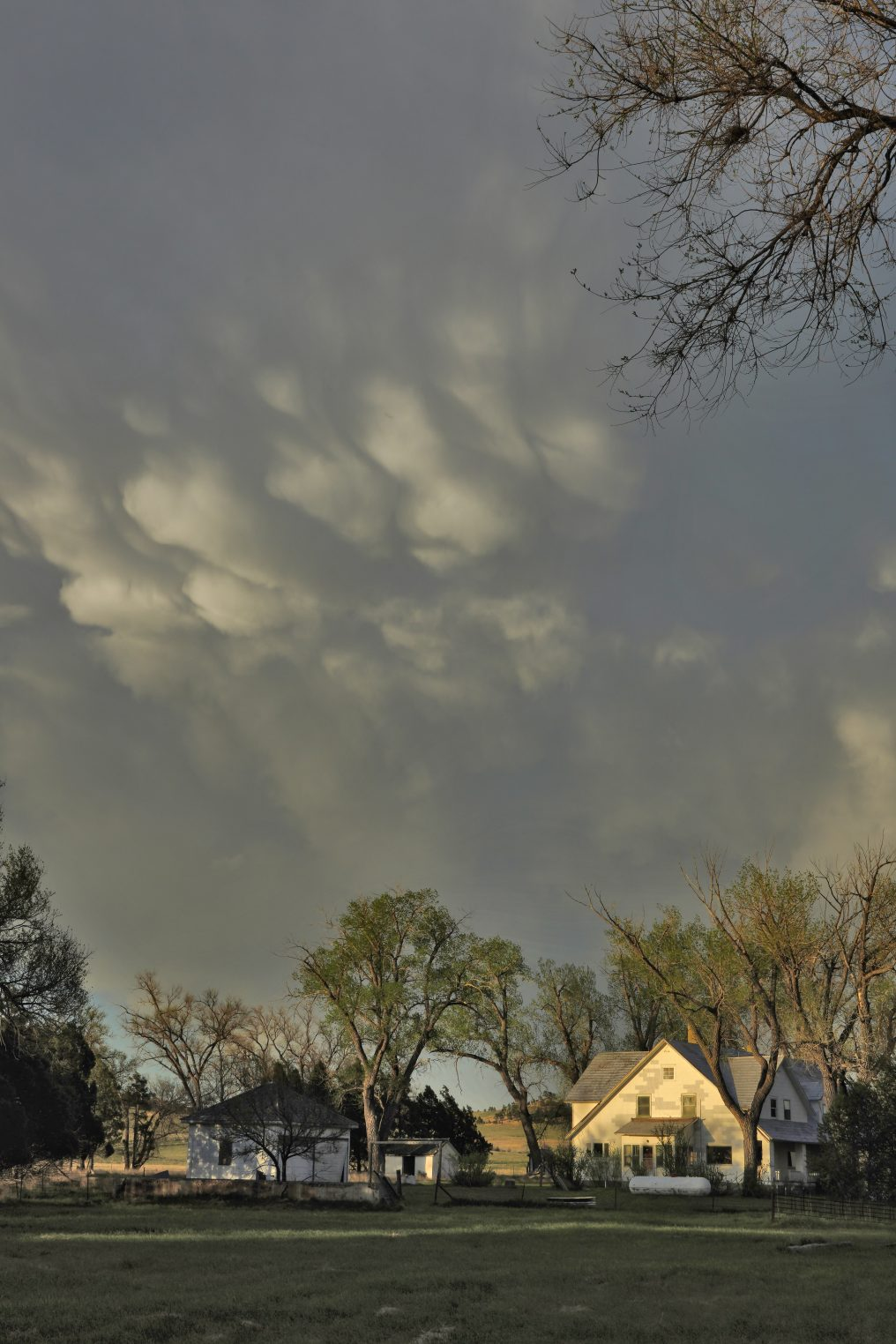 Mammatus Over Parks Ranch