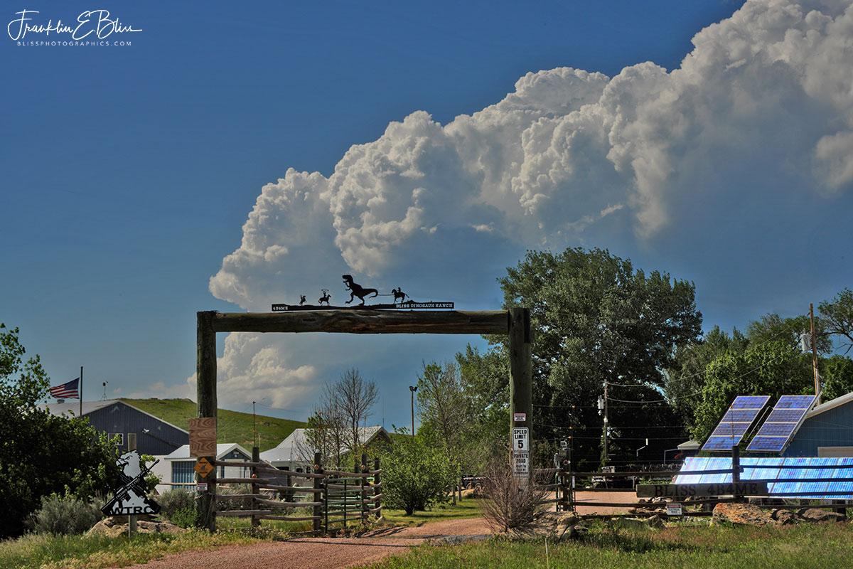 Bliss Dinosaur Ranch Entrance