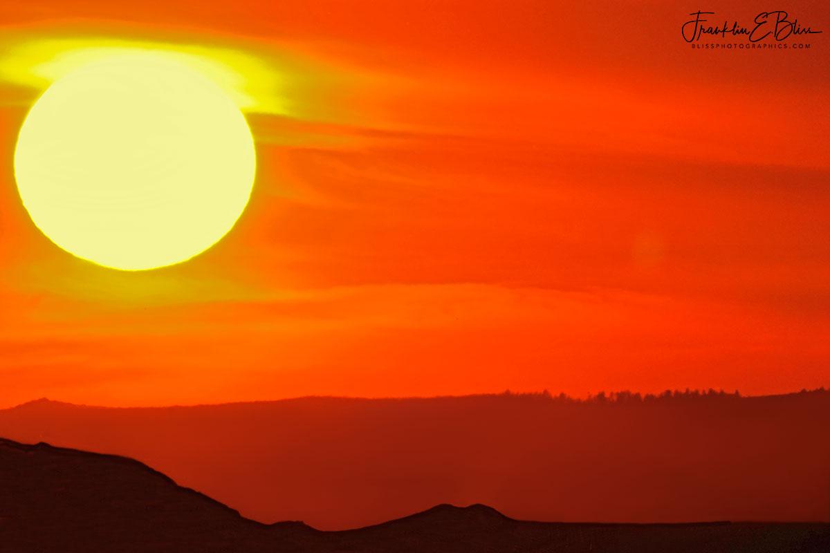 Sunscape over Landscape