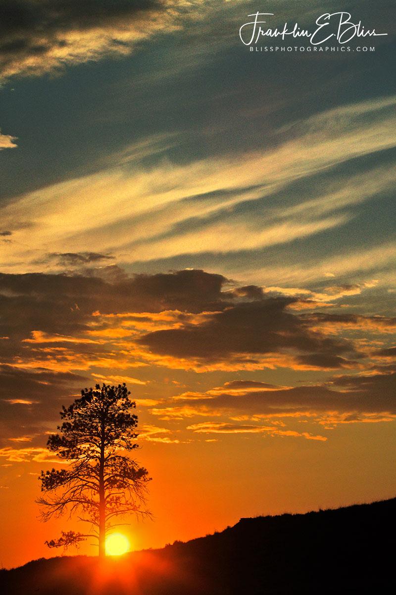 Lone Tree Ridge Sunset
