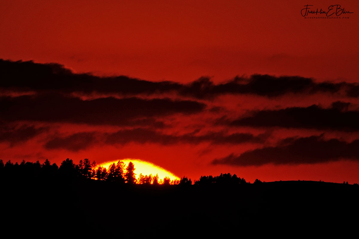 Crack of Dawn Sunrise