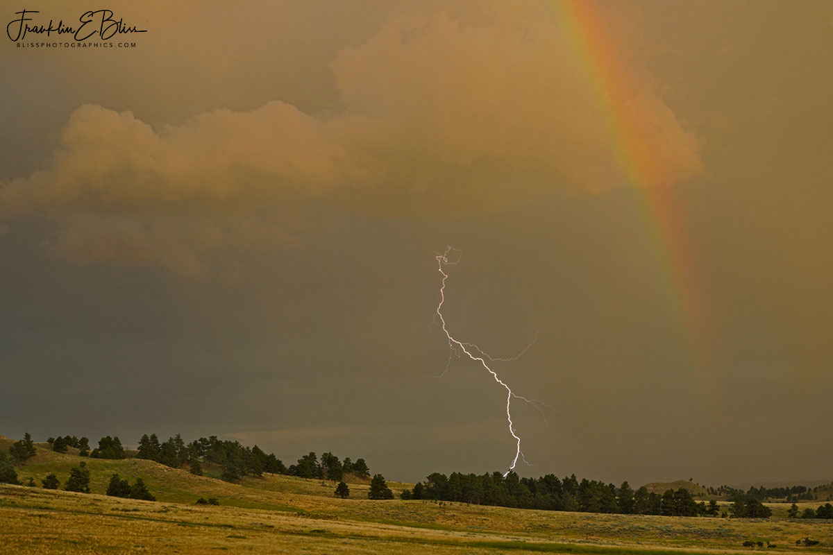 Lightning and a Rainbow