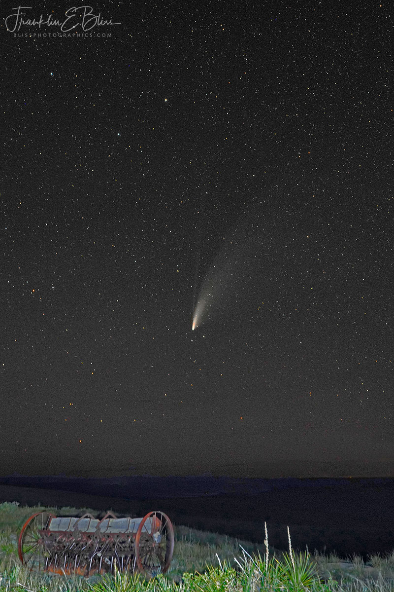 Comet Seeds Falling from Above