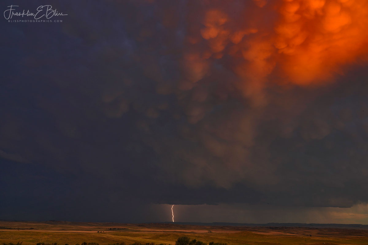 Dying Mesocyclone Lightning Discharge