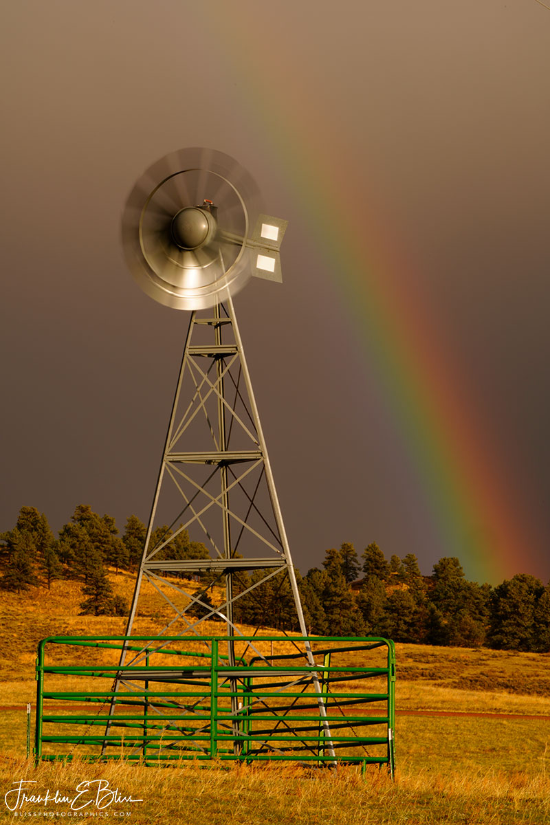 Windmill and the Rainbow