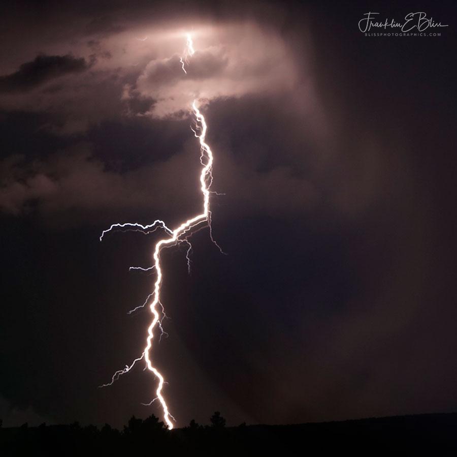 Lightning Strike Up Close