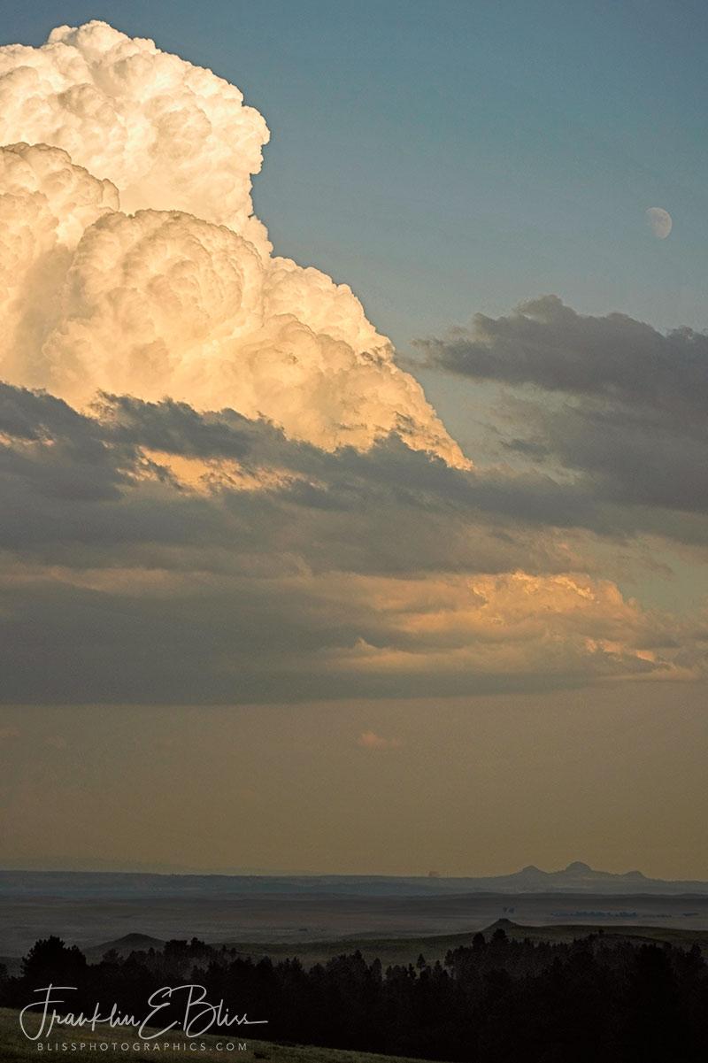 Storm over Volcanic Necks