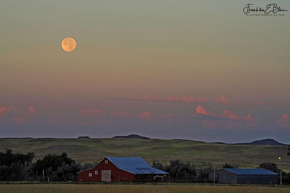 Red Barn Sturgeon Moon