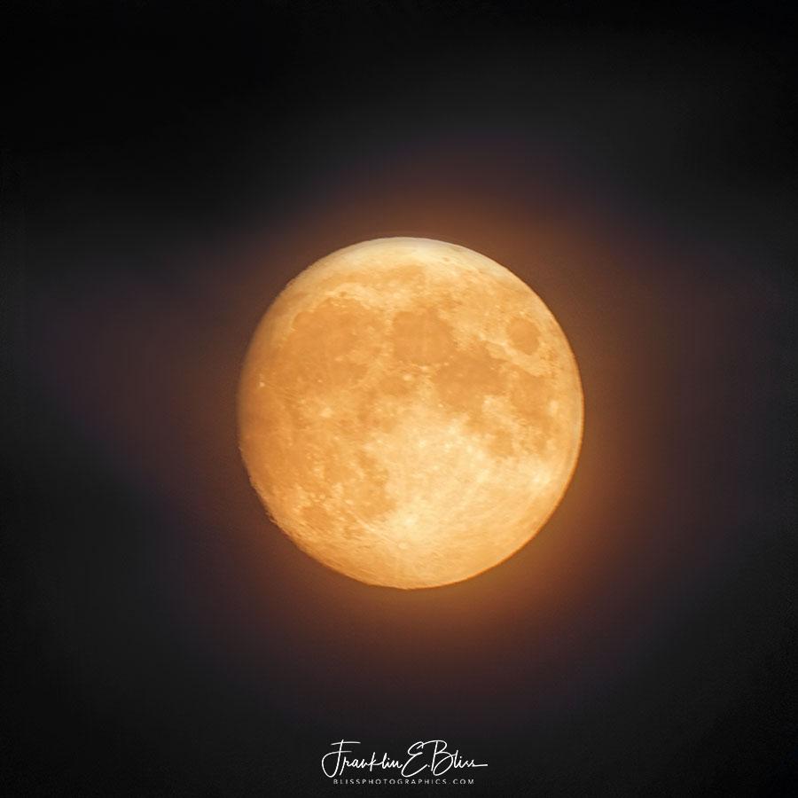 Haze Around the Moon