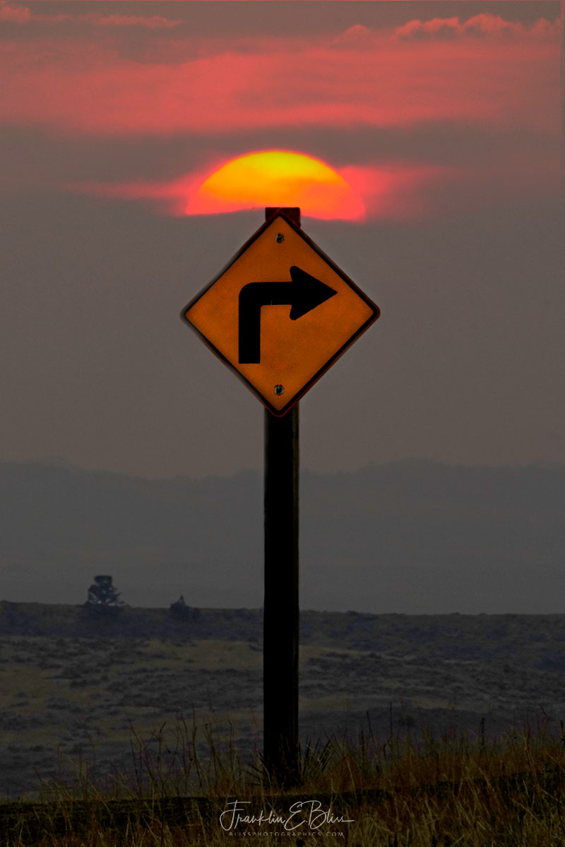 Right Turn Clyde Sunset