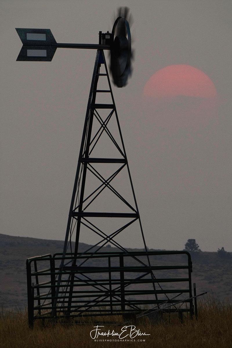 Windmill Smokey Sun Fading