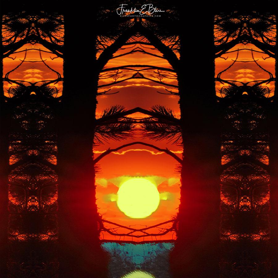 Sunset Tile ART